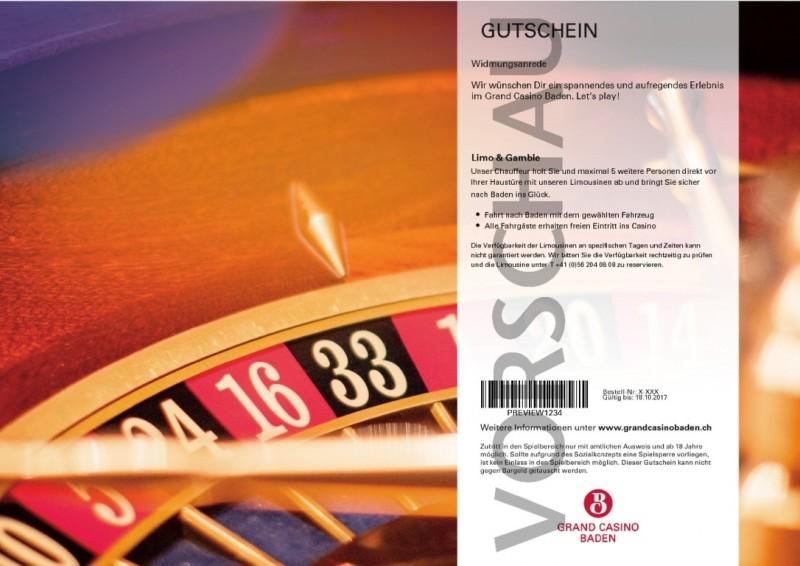 Gutscheine Casino Baden